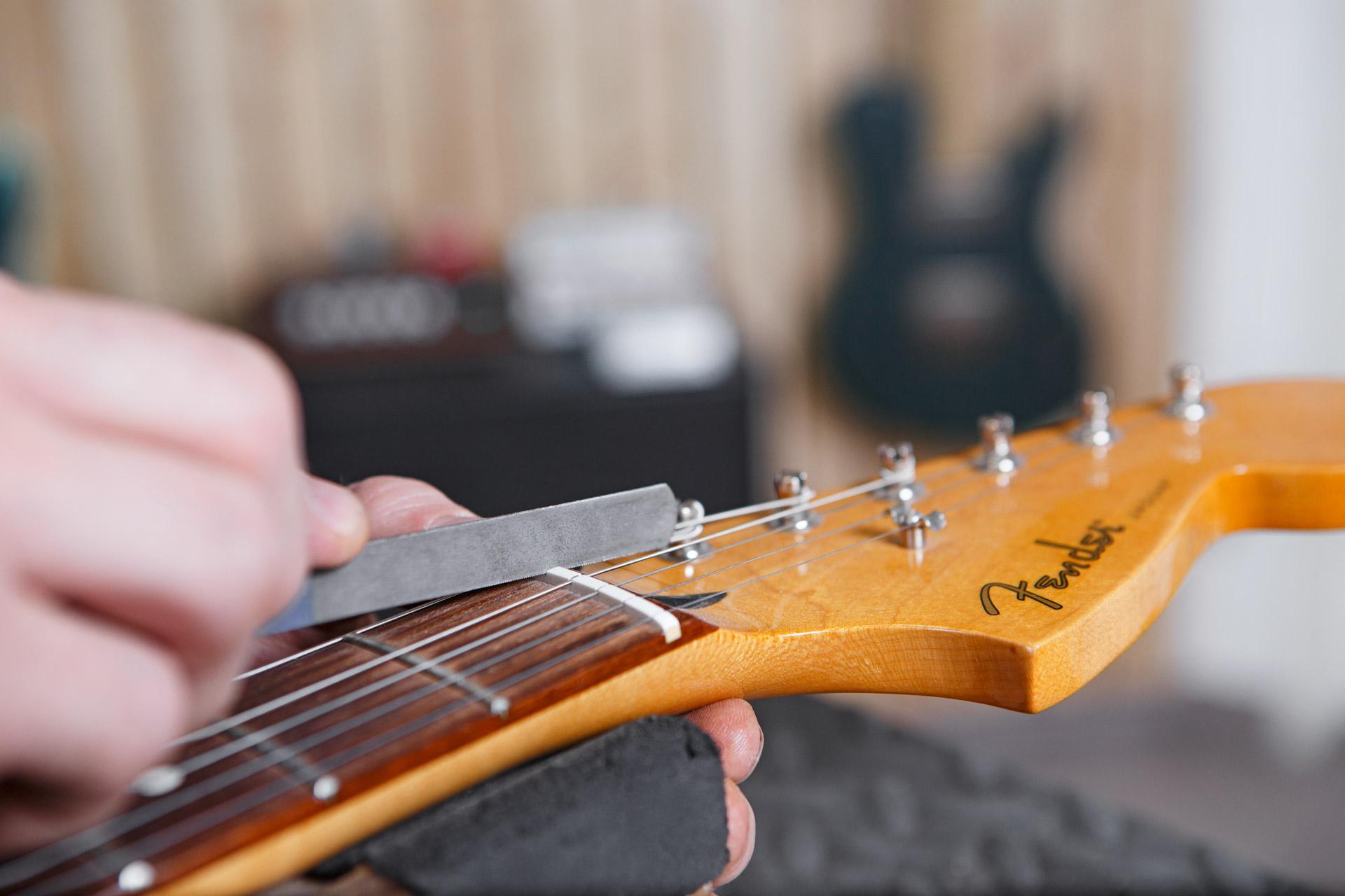 Reparatur E-Gitarre